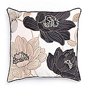 Catherine Lansfield Hannah Cushion Cover - Black