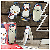 Chilly Christmas Cards, 20 pack