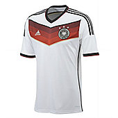 2014-15 Germany Home World Cup Football Shirt - White