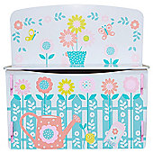 Country Cottage garden patterned toybox
