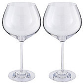 The Perfect Chardonnay Wine Glass, Handmade, Set of 2