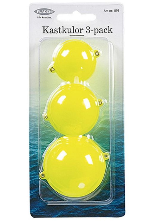 3 Pack Assorted Bubble Floats Yellow