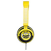 Children's Doodles Character 85 dB Limiting Headphones