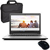 "Lenovo Ideapad 310 - 80SM00D1UK - 15.6"" Laptop With Wireless Mouse & Case"