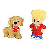 Fisher Price Little People Eddie And Puppy