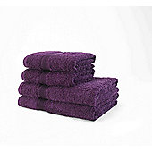 Decotex Mirage Bath Mat - Plum