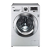 LG F14A8TDA Washing Machine, 8 Kg Load, 1400 RPM Spin, White, A+++ Energy