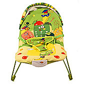 La-di-da Fruit Paradise Musical Cradling Bouncer with Canopy