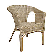 Wicker Valley Rattan Chair in Natural