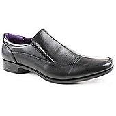 Caravelle Mens Black Avery Slip-on Formal Shoe