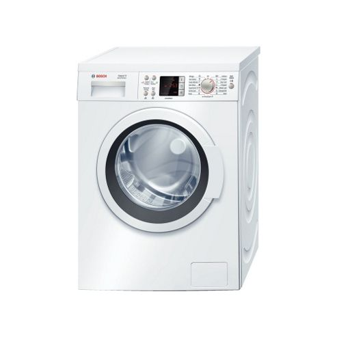 Bosch Exxcel WAQ24461GB Washing Machine, 8 Kg Load, 1200 RPM Spin, White, A+++ Energy