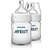 Philips Avent Classic+ Feeding Anti-Colic Bottle 125ml/4oz Twin SCF560/27