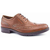 Emilio Luca X Mens Limey Tan Formal Brogue Shoes