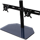 B-Tech BT7332 AViBALL Twin Screen Desk Mount