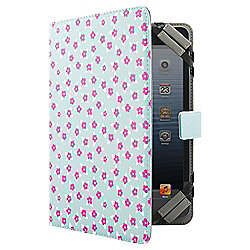"Tesco Universal Tablet Case 7 to 8""(for Kindle Fire/HD, iPad Mini, Samsung Tab) - Turquoise Floral"