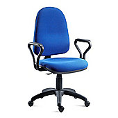 Teknik Office Priceblaster High PC High Back Operator Chair - Charcoal