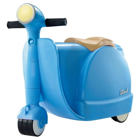Skoot Kid's Ride On Suitcase, Blue