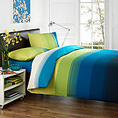 Dreams 'N' Drapes Glide Quilt Set In Teal - Single
