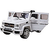 Licensed 12V Mercedes G63 AMG White