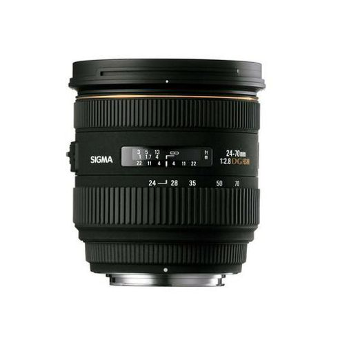Sigma 24-70mm f/2.8 EX DG IF HSM - Nikon Fit Lens