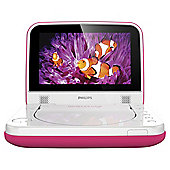 PhilipsPD7006P/05 Portable DVD Player with 7 Inch Screen Pink