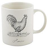 Illustrative Rooster Mug