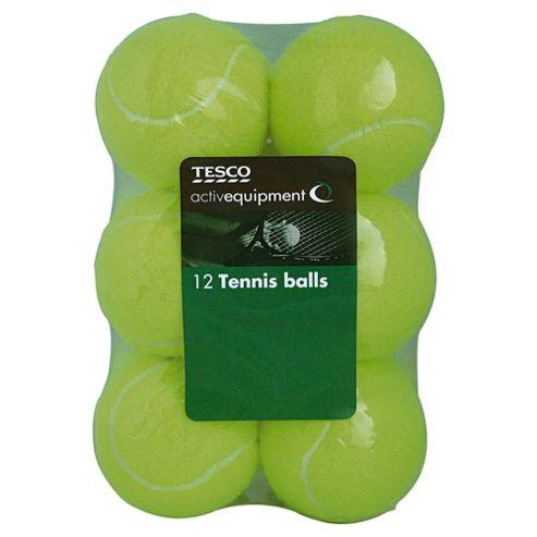 Activequipment Tennis Balls, Pack of 12