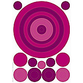 Eurographics Purple Bubbles Decosticker