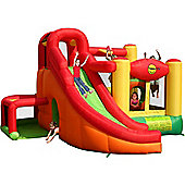 11 in 1 Play Centre Bouncer Kids Bouncy Castle With Slide, Tunnel, Obstacle, Basketball Hoop, Ball Pool - inflates in 60 seconds