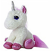 Aurora Dreamy Eyes Unicorn 30cm Plush Soft Toy
