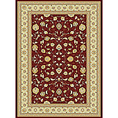 Mastercraft Rugs Noble Art Red Rug - 135cm x 200cm (4 ft 5 in x 6 ft 6.5 in)