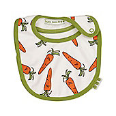 Carrot print bib
