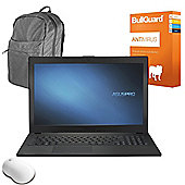 "ASUS Pro P2520LA-XO0301G 15.6"" Laptop Intel Core i7-5500U 8GB RAM 500GB HDD with Antivirus, Wireless Mouse & Backpack Case"