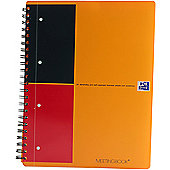 Oxford International Meeting Notebook A4+ 160 Pages Ruled Narrow Feint 100104296