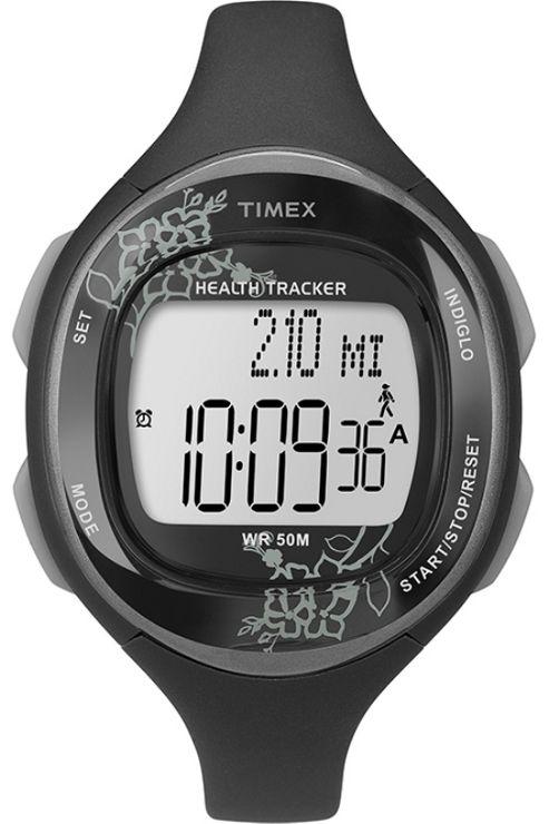 Timex Ladies Ironman Health Tracker Strap Watch T5K486