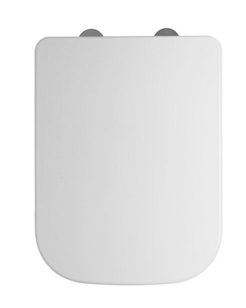 Tavistock Structure Soft Close Toilet Seat in White