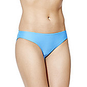 F&F Ruched Back Bikini Briefs - Blue
