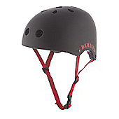REAX Damaged Helmet 55-59cm Rubberised Black