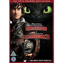 How To Train Your Dragon & How To Train Your Dragon 2 (DVD Boxset)