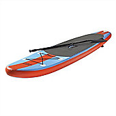 North Gear 8Ft Inflatable Sup Stand Up Paddle Board Package - Ocean Blue/Orange