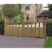 Fortress Driveway Gate 0.9m x 2.4m
