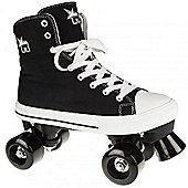 Rookie Quad Skates - Canvas High Polka Dot Red/White - Size - UK 7 - Black