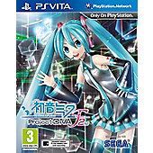 Hatsune Miku: Project DIVA F 2nd - PSVita