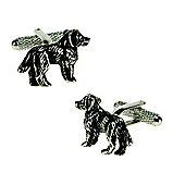 Spaniel Dog Lovers Novelty Themed Cufflinks