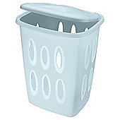 Plastic laundry hamper
