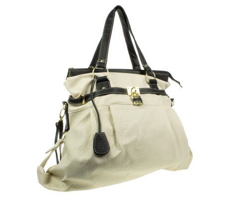 Barratts Slouch Effect Shoulder Bags With Padlock Trim