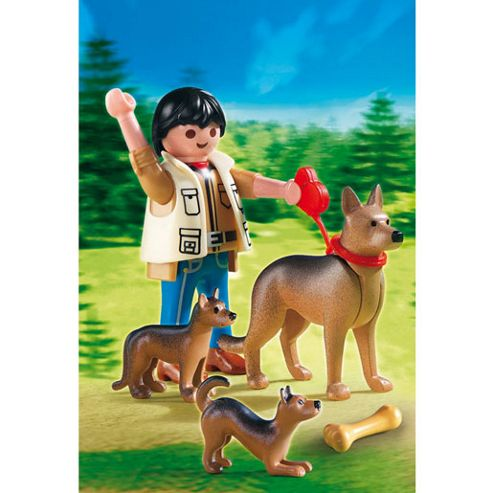 Playmobil - German Shepherd with Puppies 5211