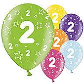 2nd Birthday Balloons - 11' Latex