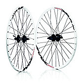 Wilkinson Mach 1 MX 8/9 Speed Shimano 475 MTB Disc White 32H Rear Wheel