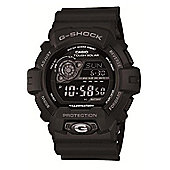 Casio G-Shock Mens Rubber Chronograph, Solar Power, Stopwatch Watch GR-8900A-1ER